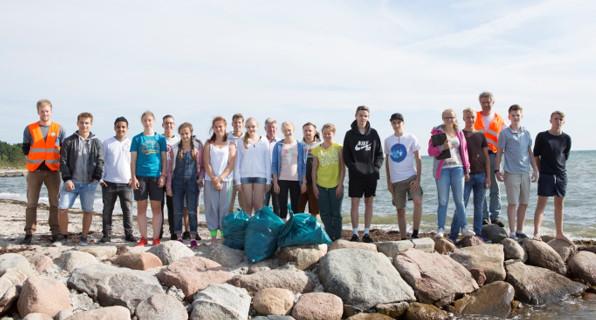 Gruppenfoto Coastal Cleanup Day 2016 (Hamburg)